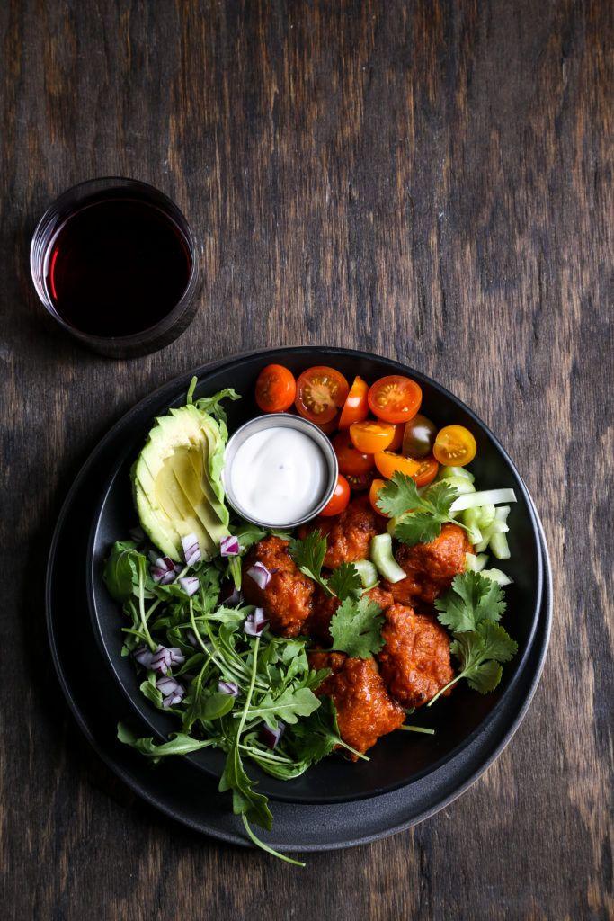 The Best Buffalo Cauliflower Crispy, Spicy, Air Fried