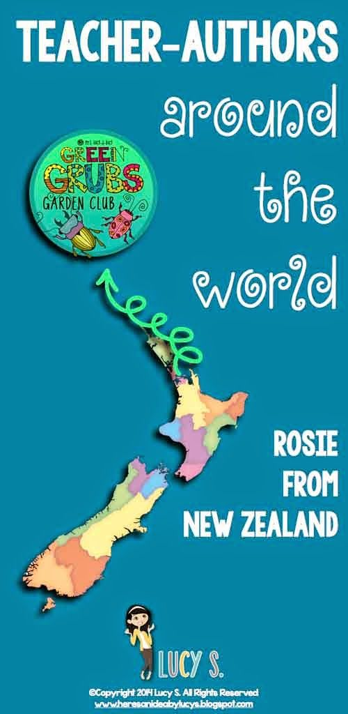 Here's an idea: Teacher-authors around the world: meet Rosie from New Zealand!