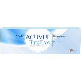 Acuvue 1 Day TruEye to jednodniowe silikonowo-hydrożelowe soczewki kontaktowe polecane osobom które: - chcą nosić soczewki kontaktowe cały dzień, aż do późnych godzin wieczornych - odczuwają suchość i wrażliwość oczu - dbają o zdrowie swoich oczu tak samo jak o zdrowy tryb życia. Jednodniowe soczewki to trafny wybór, ponieważ zapewniają pełną swobodę ( ostre widzenie, swobodę ruchów i komfort ), bezpieczeństwo ( każdego dnia nowa, świeża soczewka), wygoda ( brak płynów, środków…