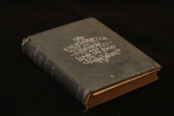 Rare Antique Occult Book Encyclopedia of by EleanorMeriwether, $95.00