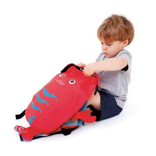Trunki PaddlePak Sırt Çantası Istakoz - Pinch #sırtçantası #çocukçantası #backpack #paddlepak #trunki