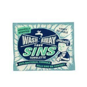 Blue Q Wash Away Your Sins Towelettes Singles by Blue Q. $1.69