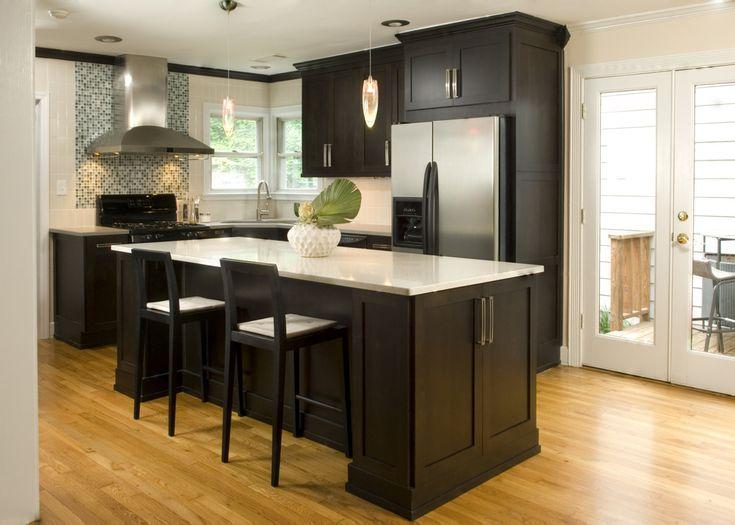 cocinas con isla central modernas | inspiración de diseño de interiores
