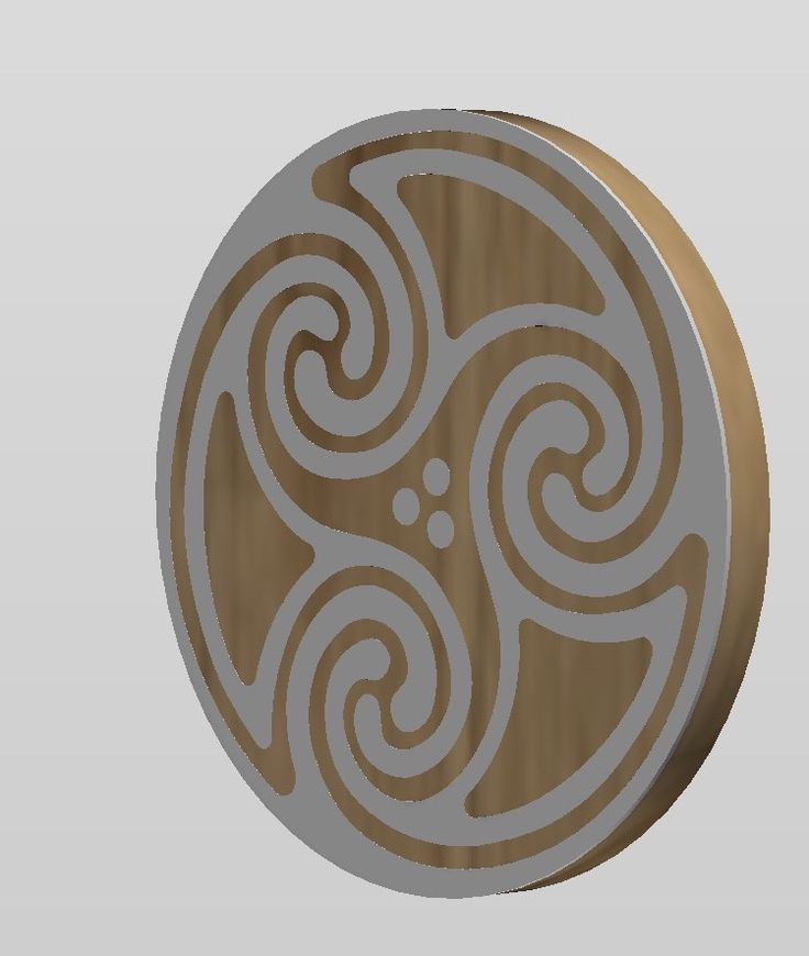 A shield, a table top a coaster, or just a piece of Celtic wall art. Just depends on what Scale I set!