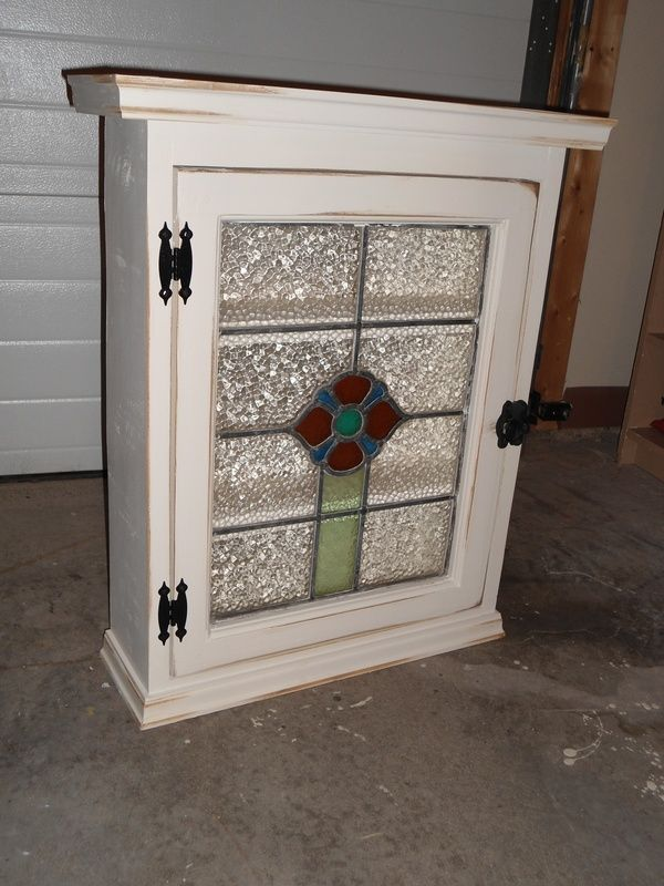 Stained Glass Cabinet - Ruff-Stuff Woodworking