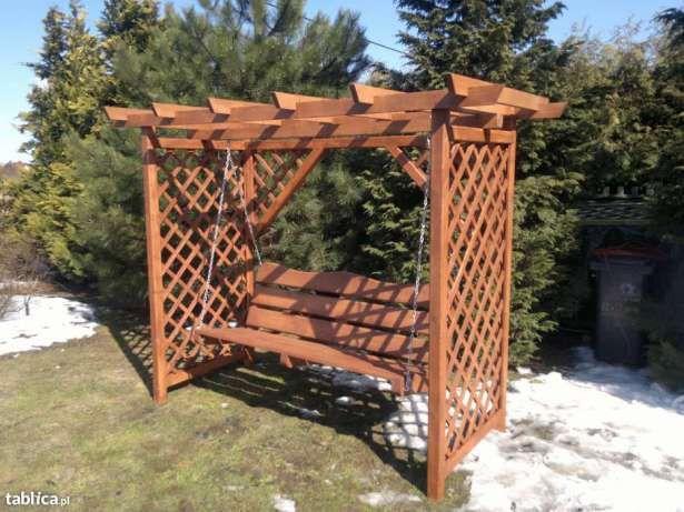 Hustawka Ogrodowa Z Daszkiem Hustawki Ogrodowe Wyprzedaz Wachock Image 3 Outdoor Decor Pergola Patio