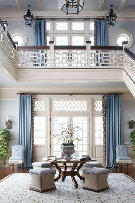 Entry, Staircase And Railings By Cindy Rinfret. Home Decor And Interior  Decorating Ideas. Beautiful Homes.