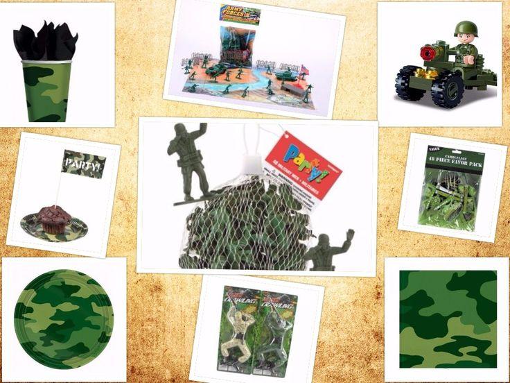 Ideeën voor een camouflage taart