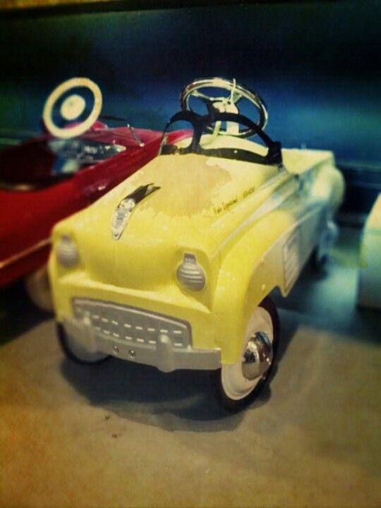 antique pedal car in mariettaohio