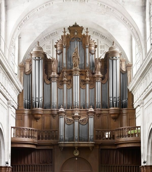 Baroque organs in Parisian churches photographed by Raphaël Dallaporta.