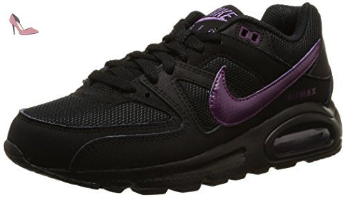 Nike Air Max Command, Sneakers basses femme, Noir (Black/Mulberry), 36.5 - Chaussures nike (*Partner-Link)
