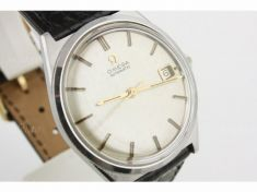 Reloj Omega con correa de cocodrilo modelo Constellation cocodrilo hirsch