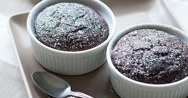 Čokoládový dortík s tekutým středem