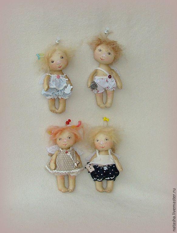 Купить Тебе, мой Ангел:) ...Ангелочки ПУГОВКИ - разноцветный, ангел, ангелочек, гапчинская, маленький ангел