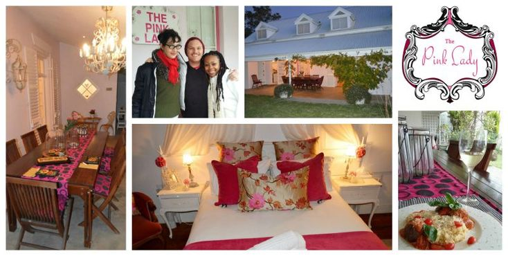 The Pink Lady Guesthouse Address: 14 Stasie Way, Caledon. Tel: 076 472 1057 Email: johan@pinkladyguesthouse.co.za