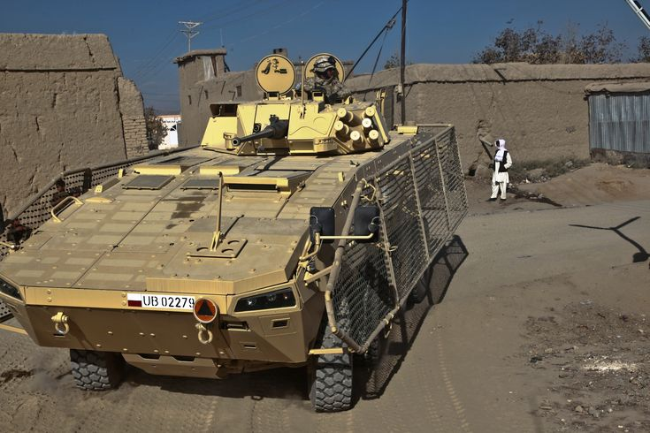 Polish Rosomak in Afghanistan