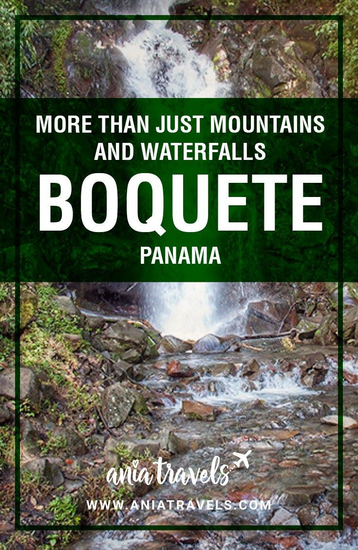 I am absolutely in love with Boquete, Panama! It was the perfect spot for any adventure seeker like myself. I've always been a huge mountain person so this was the perfect scenery from me. With so many different things to do in Boquete, this place is easily ranked high on my list of recommended places to visit. | Central America | Travel | things to do | adventure | hiking | mountains | waterfalls | panama