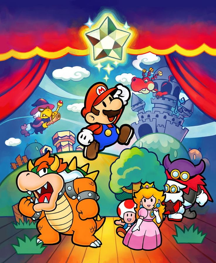 Super Paper Mario begins with Mario and Luigi relaxing at their house. Description from hubpages.com. I searched for this on bing.com/images