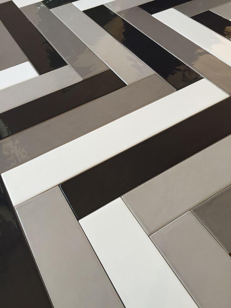 #tonalite collezione #linea40 #tiles #piastrelle #herringbone #pattern #chevron #schemadiposa #v-shaped #diagonal #design #arredamento #glossy #azulejos #carreaux #rivestimento #walltiles