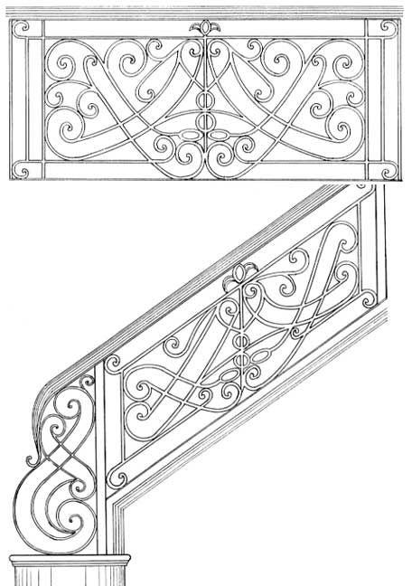 Railing Designs ISR009
