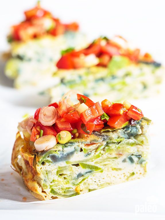 Explore a different kind of tortilla with our zucchini tortilla. It's a version of a Spanish tortilla that has a unique taste and texture you've just got to try!