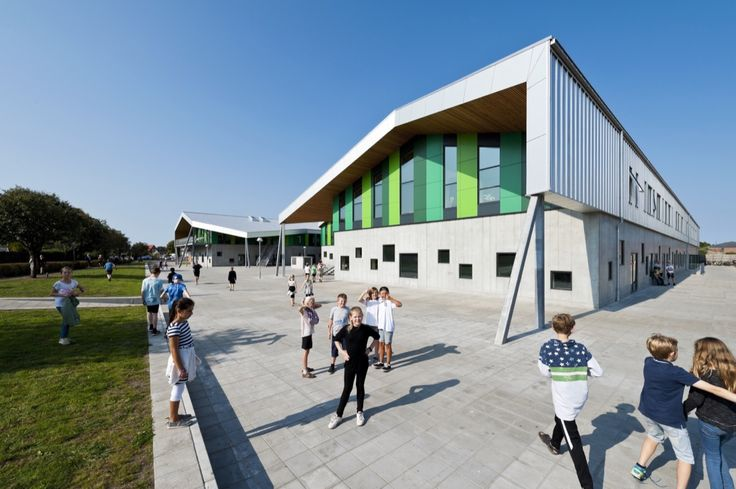 Completed in 2016 in Aabybro, Denmark. Images by Mikkel Frost. At CEBRA architecture we rethink architecture - also when we design schools. In Aabybro, Denmark, a new city school has just been inaugurated. A...