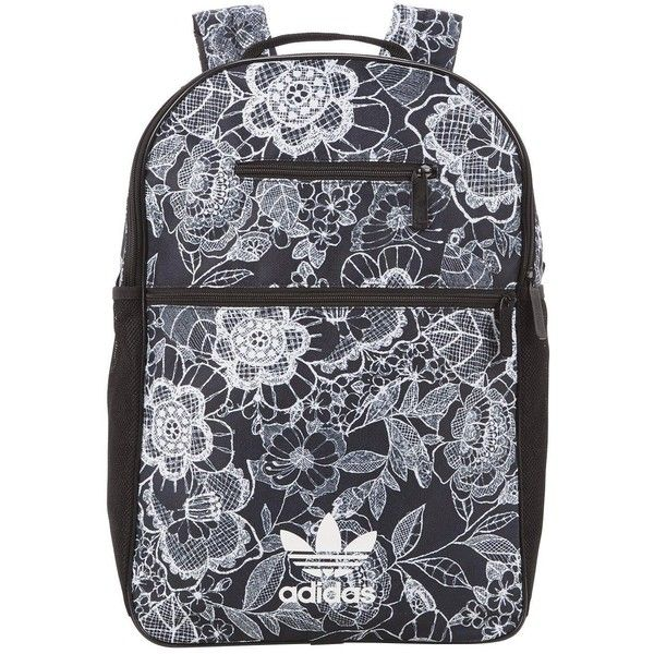 Adidas Originals Florido Backpack ($43) ❤ liked on Polyvore featuring bags, backpacks, backpack bags, knapsack bag, adidas originals, rucksack bags and adidas originals backpack