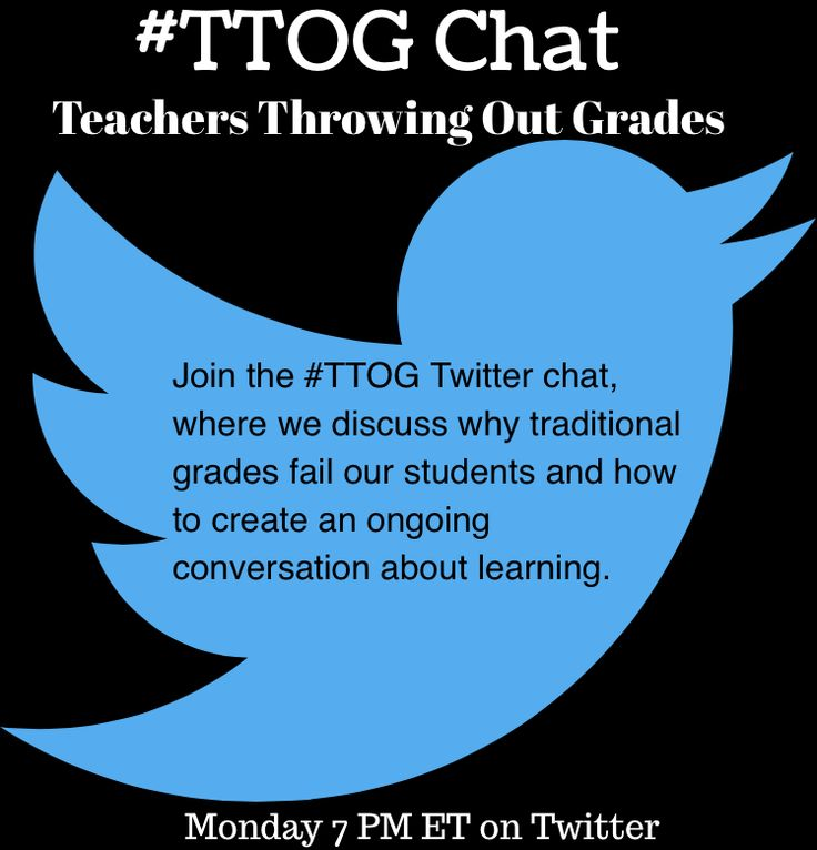 Why Traditional Grades Fail All Students: #TTOG Chat