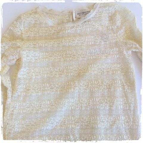 RALPH LAUREN DENIM AND SUPPLY CREAM LACE LONG SLEEVED BLOUSE – The Stuff we Love