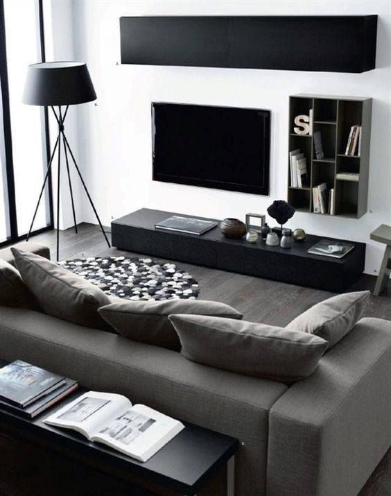 Best Images About Male Living Space Malelivingspace Bachelor Pad Living Room Small Apartment Living Room Modern Living Room Interior