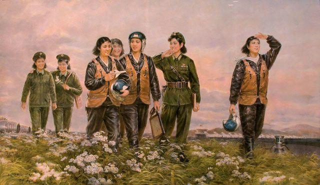 Mansudae: arte del estudio más grande de Corea del Norte - VICE