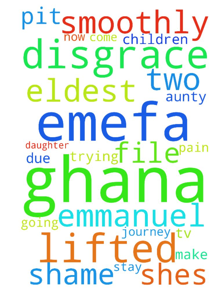 My name is emefa from Ghana, God has - My name is emefa from Ghana, God has lifted me up from the pit of shame and disgrace through emmanuel tv. Am now in Denmark with my husband and two children, my eldest daughter is in Ghana with my aunty and shes going through pain due to maltreatment. Please we are trying to file for her to come and stay with us but there are alot of obstacles, please i need your prayers to make her journey smoothly. Posted at: https://prayerrequest.com/t/JRS #pray…