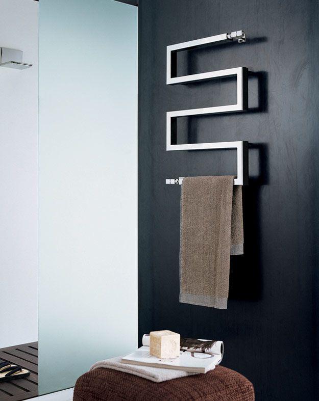 Bathroom Towel Radiator   Cubic Snake Designer Towel Rail