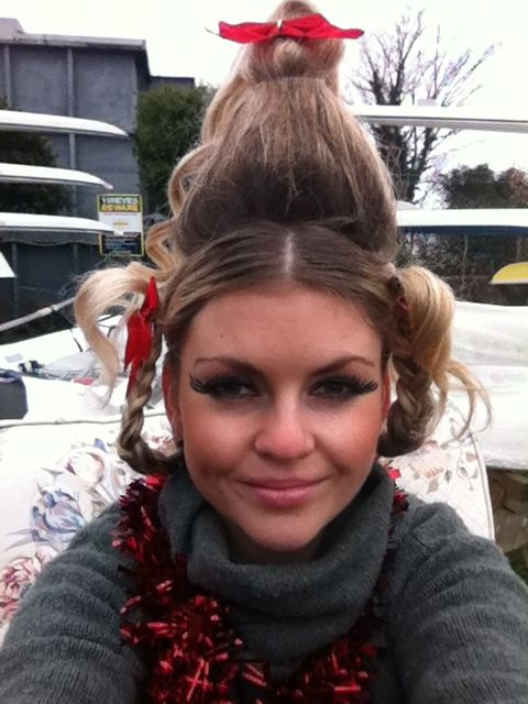 Cindy Lou Who Christmas Fancy Dress Costume DIY for work Halloween