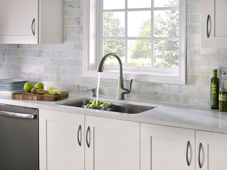 In the 2014 Dream Slate Kitchen Sweepstakes, Pfister® Faucets and GE Appliances give consumers the chance to win a Slate kitchen that includes a variety of prizes, including a Pasadena® kitchen faucet. (Photo: Business Wire)