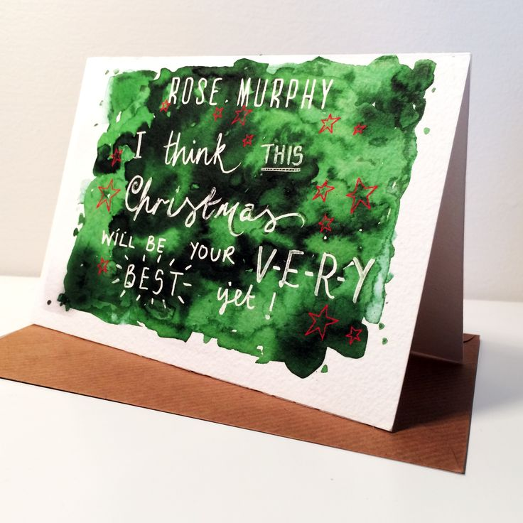 Personalised+Christmas+Card, £3.95