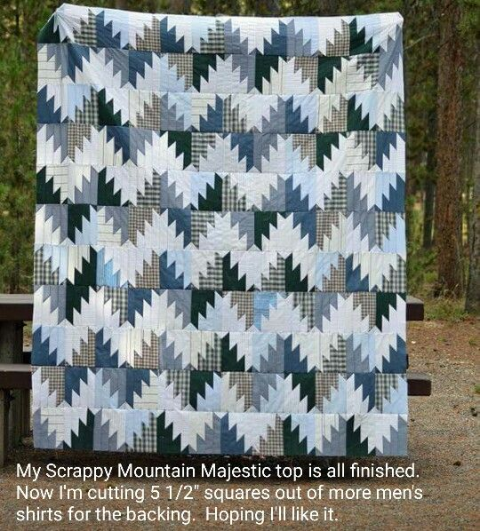 Jennifer Wiltrout is sharing her Scrappy Mountain Majesties top made with…