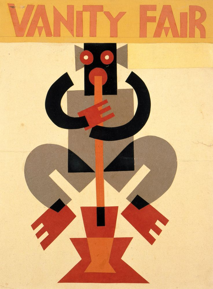 Fortunato Depero, cover of Vanity Fair, 1930