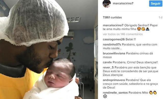"""Ainda sem destino Cirino se emociona com chegada da filha: """"Papai te ama"""""""