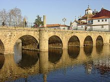 Trajan's Bridge over the Tâmega River, Chaves, Northern Portugal