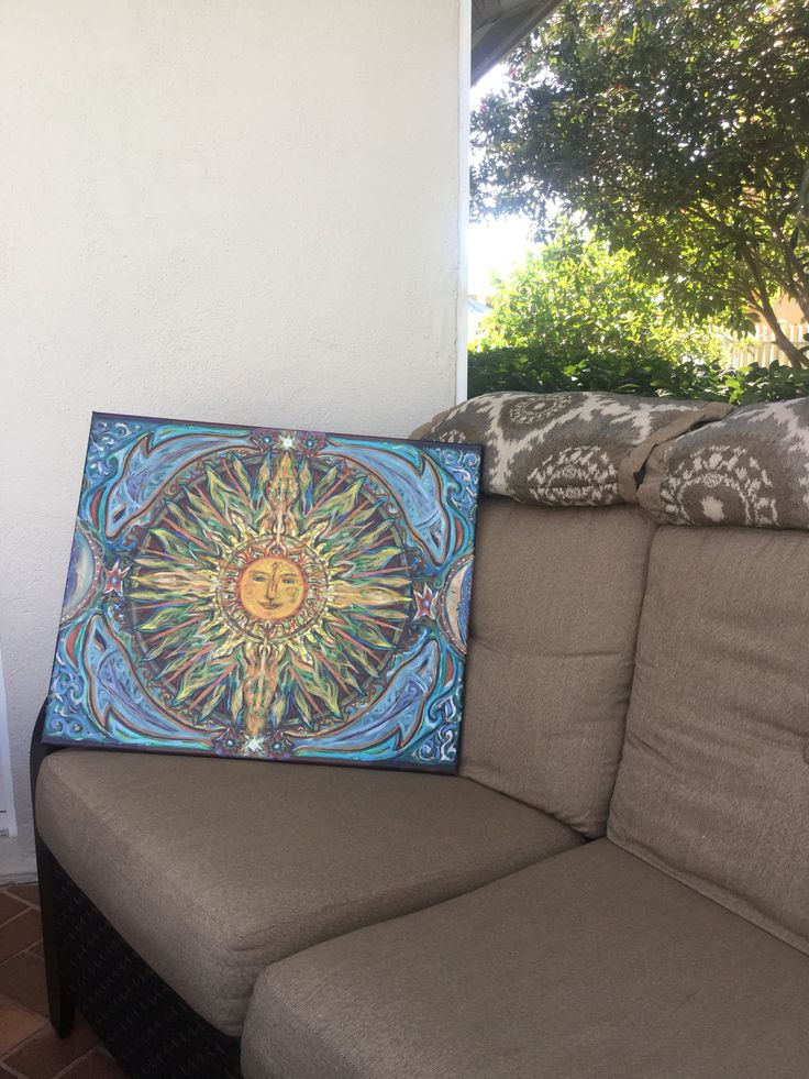 Sun Canvas (for our outdoor living space). www.artistg.com