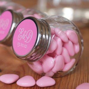 Mini bonbonnière mariage en verre - Les Petits Cadeaux