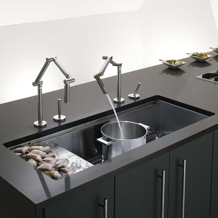 7 best kitchen taps images on pinterest kitchen faucets for Kitchen ideas under 5000