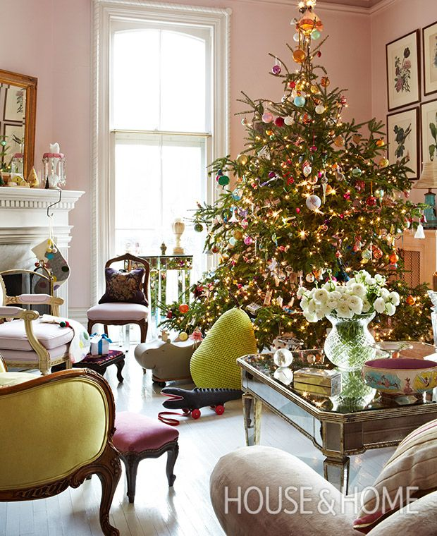 Beau Find Your Holiday Style: 14 Candy Colored Christmas Decorating Ideas