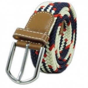 Mink Braid - Navy/White/Red (Belt)    #Buy #Mink Braid - Navy#WhiteRed #Belt  #Online #India #Mumbai #Shopping #Shop #Men #thetiehub