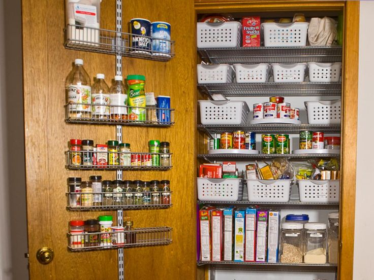 Explore ideas for a pantry door rack organizer, plus browse helpful pictures for inspiration and ideas from HGTV.