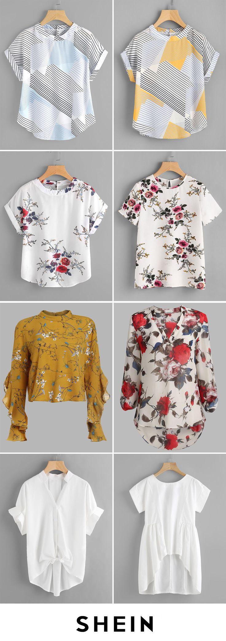 Cheap & chic blouses