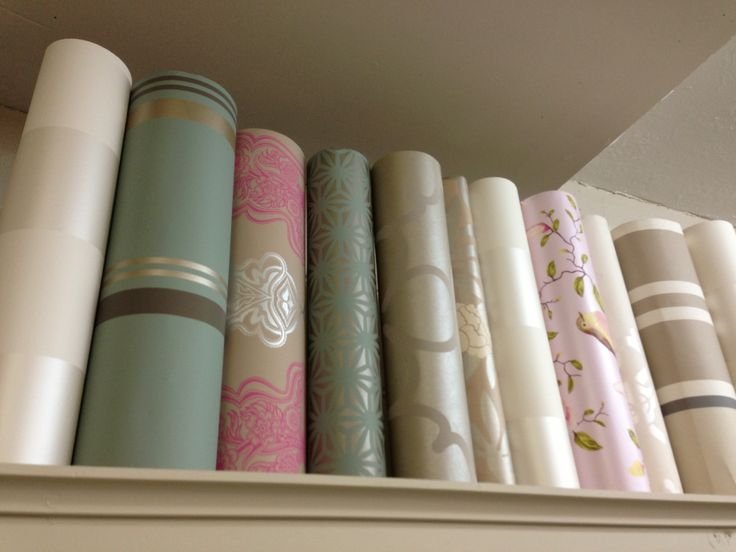 Wallpaper is a great way to add pattern to your space. These are some we have used