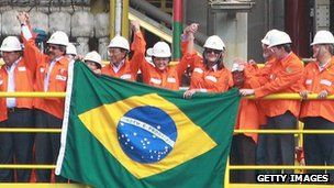 Brazil 'overtakes UK's economy'  COMMENTS (413)    The Brazilian economy is still booming, despite the global economic slowdown  Continue reading the main story  Related Stories    Brazil: No longer 'country of the future'  Will growth draw Brazilians home?  Brazil's economy marching to samba beat  Brazil has become the sixth-biggest economy in the world, the country's finance minister has said.