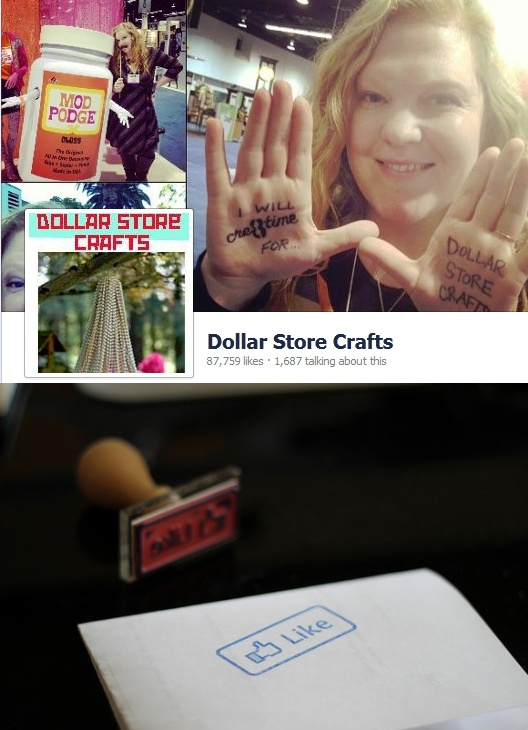 The original Dollar Store Crafts! 'Like' DSC on Facebook for daily dollar store craft ideas, clever crafts, and daily inspiration! / http://facebook.com/dollarstorecrafts
